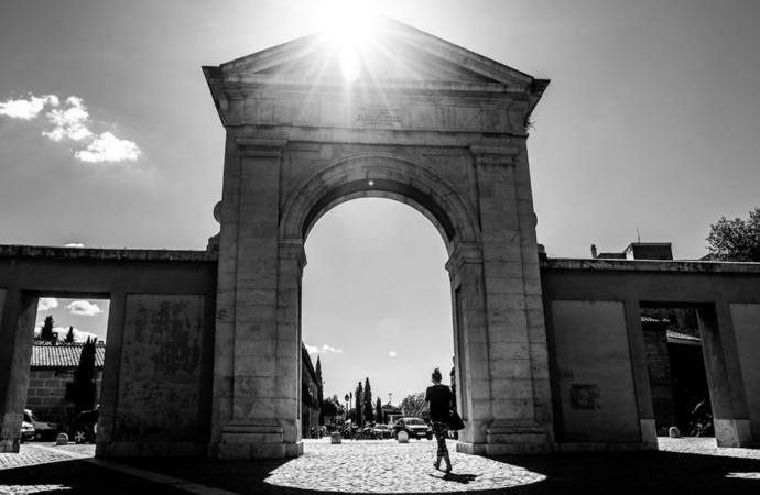 Alcalá de Henares desde casa / La Puerta de Madrid: mucho más que «Espartaco» y Kirk Douglas