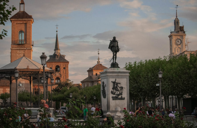 Programa del «Festival de la Palabra 2021» en «el abril de las Letras de Alcalá y de Cervantes»