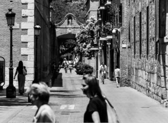 Arco de San Bernardo / Alcalá, Patrimonio de la Humanidad: fotos con alma