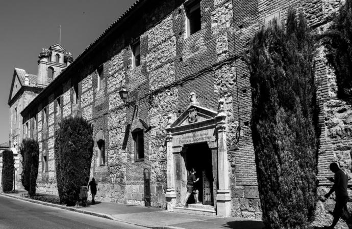 La desconocida Escuela de Arquitectura de Alcalá. Alcalá desde casa.