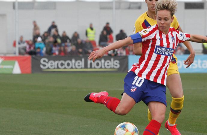 El Atleti Femenino, eliminado por el Barcelona 0-1 en cuartos de la Champions League