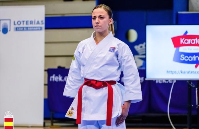 La alcalaína Lidia Rodríguez luchará por su primera medalla 'absoluta' en un Campeonato de España de Karate