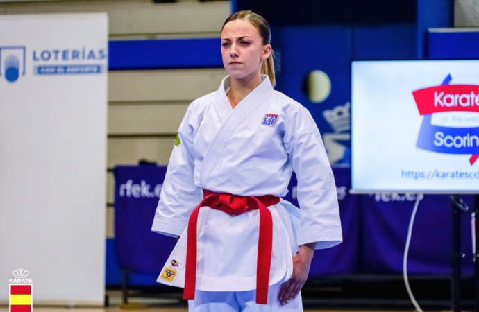 Karate: Lidia Rodríguez se alza al podium con doble medalla en la Premier League de Lisboa