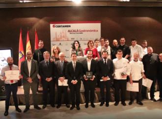 Mario Sandoval recoge el «Premio Cervantes Gastronómico» tras un certamen que tiene éstos ganadores