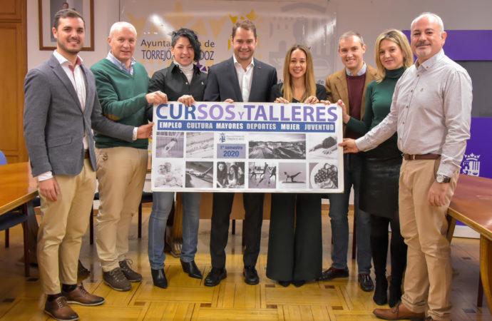 Torrejón presenta su oferta de cursos para el primer semestre de 2020