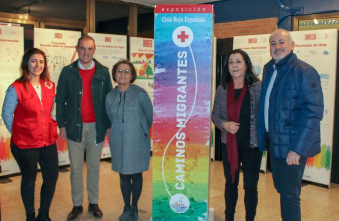 La exposición 'Caminos Migrantes' ya puede visitarse en la Casa de Cultura de Torrejón