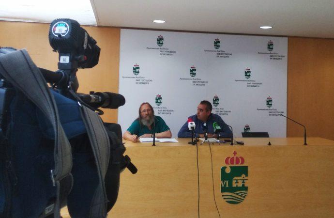 El alcalde de San Fernando reúne a los ediles de los municipios afectados por los ruidos del aeropuerto