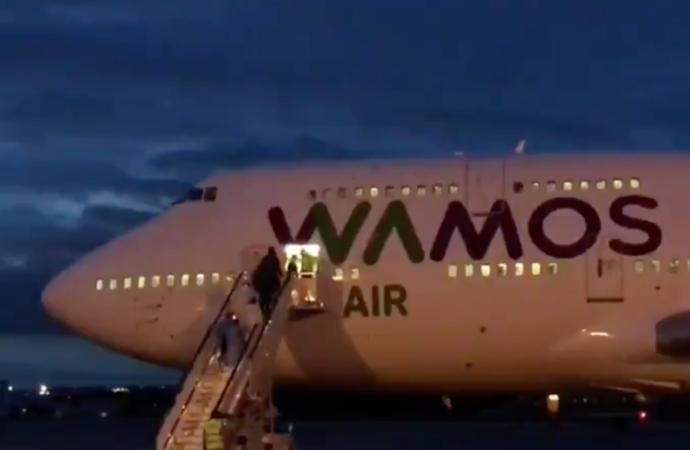 Coronavirus: llegan a la Base Aérea de Torrejón los españoles repatriados desde China