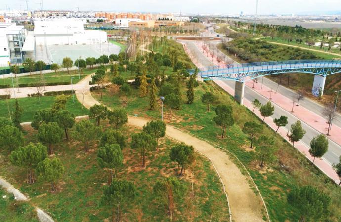 Así es el nuevo «Bosque Urbano» de Soto del Henares en Torrejón de Ardoz