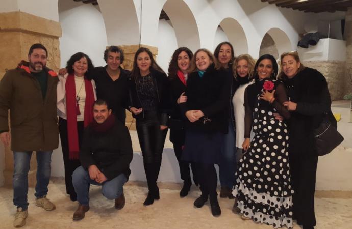 Brihuega: el flamenco de Cristian Almodóvar hizo vibrar la Real Fábrica de Paños