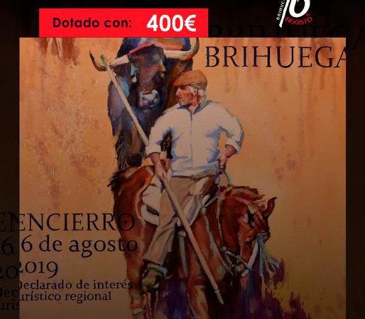 Concurso de Carteles del Encierro de Brihuega: 400 euros de premio
