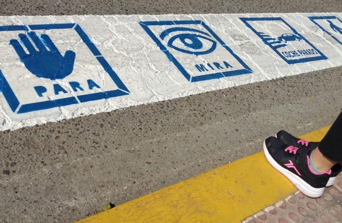 Así serán los Pasos de Peatones especiales para niños autistas en Torrejón de Ardoz