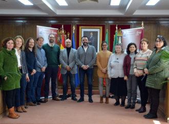 El Alcalde de Azuqueca recibe a los coordinadores del programa educativo europeo Erasmus+