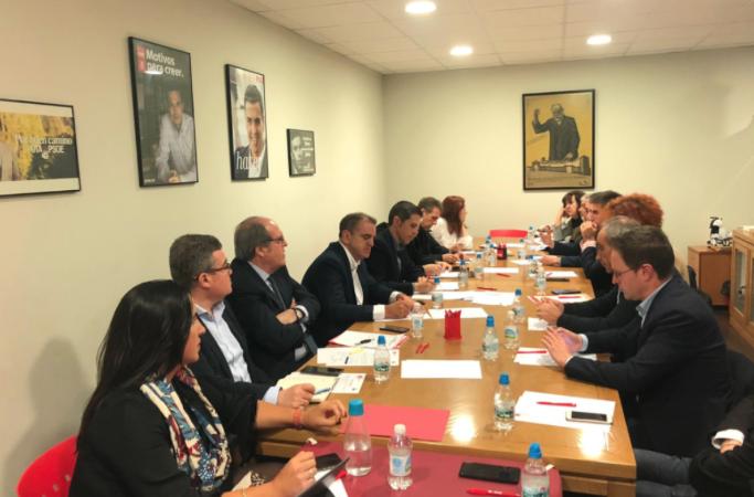 Cumbre socialista de alcaldes del Este en Alcalá: Franco pide a Ayuso que se aprueben ya los Presupuestos