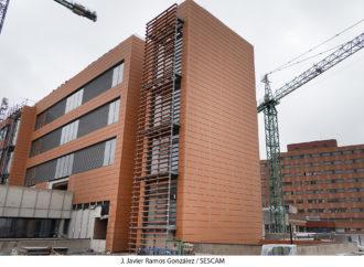 Las obras de ampliación del Hospital de Guadalajara se acercan del 75% de su ejecución
