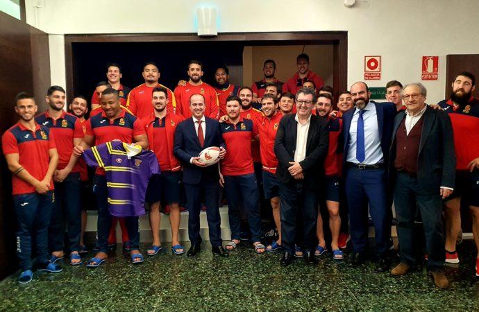 La Selección Española de Rugby se concentra en Guadalajara para preparar el Europeo