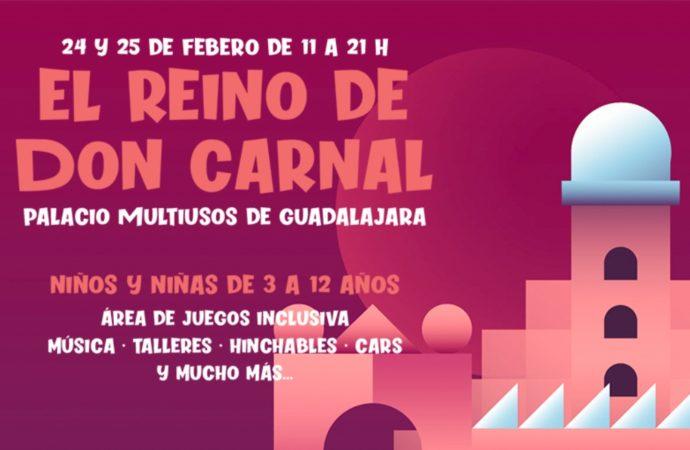 Guadalajara: El Reino de Don Carnal abre sus puertas en el Palacio Multiusos el lunes 24