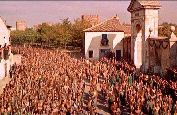 """Muerte de Kirk Douglas: El día que """"Espartaco"""" se rodó en Alcalá de Henares"""
