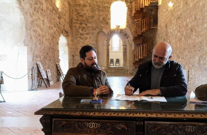 Comienzan las obras de rehabilitación del Castillo de la Piedra Bermeja en Brihuega