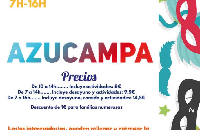 'Azucampa': el campamento para los niños de Azuqueca durante el Carnaval