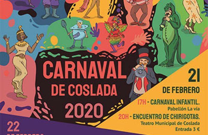 Los niños protagonistas del inicio del Carnaval de Coslada
