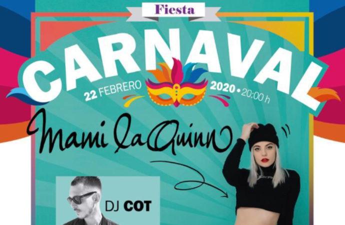 Gran fiesta de Carnaval juvenil en Guadalajara este sábado 22 de febrero