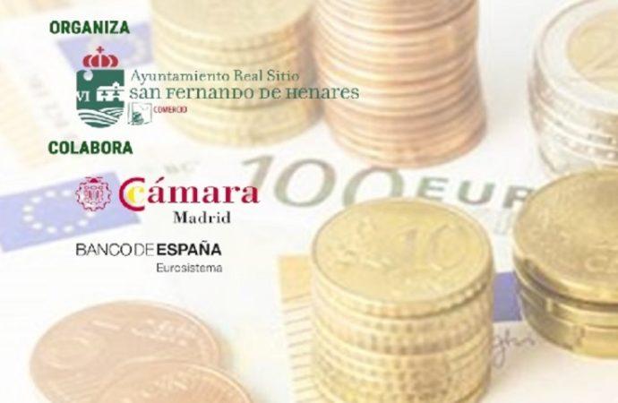 San Fernando de Henares enseña al comercio y hostelería locales a detectar billetes falsos