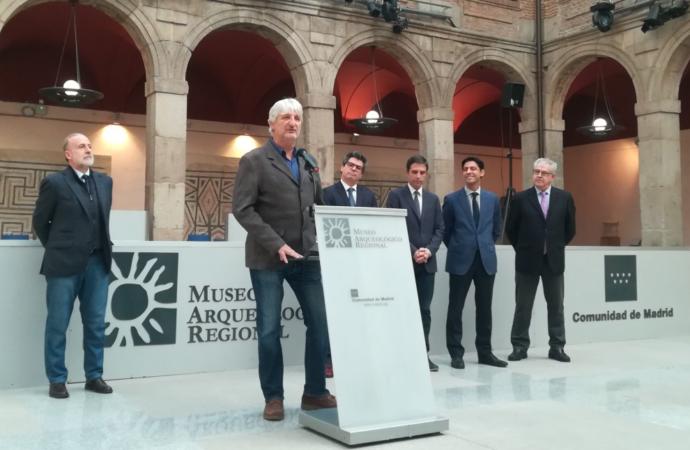 Enrique Baquedano, nuevo presidente de la Asociación Española de Amigos de la Arqueología