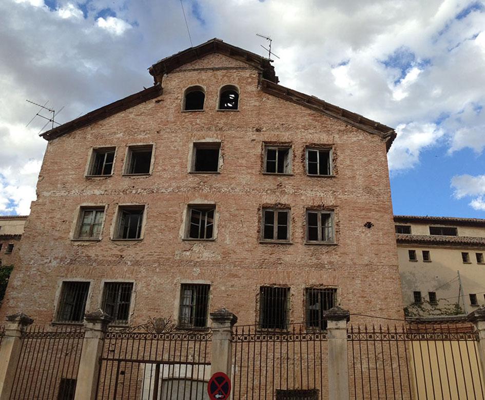 Estado actual de la antigua Prisión de Mujeres, conocida como La Galera.
