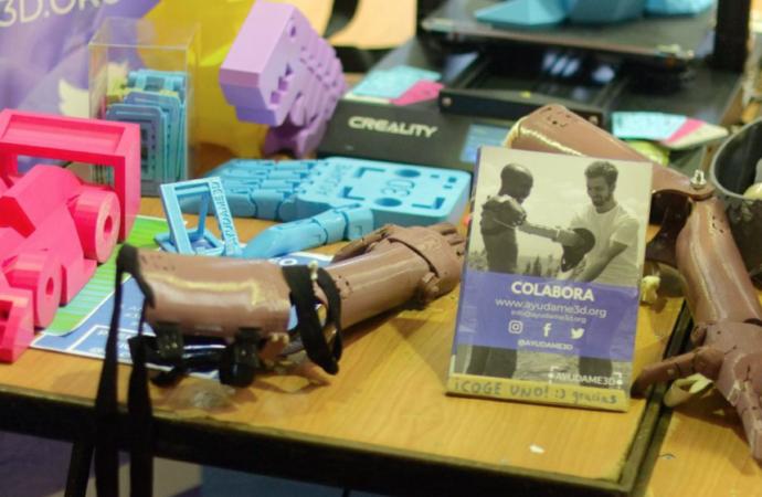 Así son las prótesis para brazos con tecnología e impresoras 3D de la Universidad de Alcalá