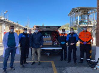 El Grupo Juste de Coslada, fabrica solución desinfectante para donar a instalaciones estratégicas