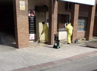Alovera despliega medidas excepcionales para la desinfección de los espacios públicos