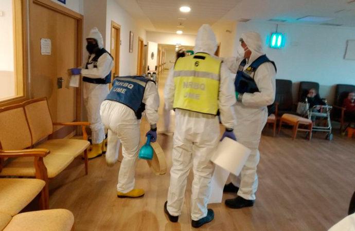 Plan de choque urgente del gobierno regional en las residencias de mayores frente al coronavirus