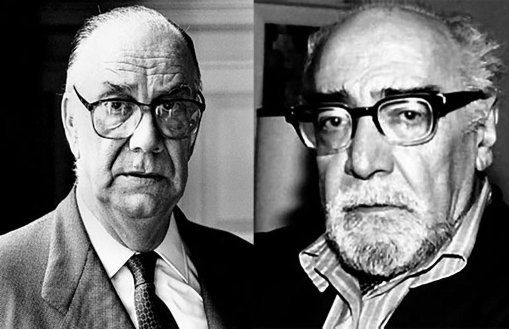 Camilo José Cela y Ramón J. Sender, protagonistas de un sintomático incidente en 1977.