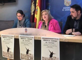 El ayuntamiento de Guadalajara organiza el ciclo «Memoria contra el Olvido» este mes de marzo