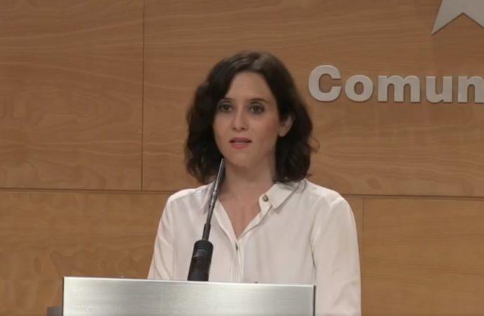 Díaz Ayuso anuncia un plan de incentivos para retener médicos en Madrid