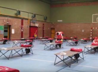 Cruz Roja de Guadalajara protege a los sintecho durante el estado de alarma