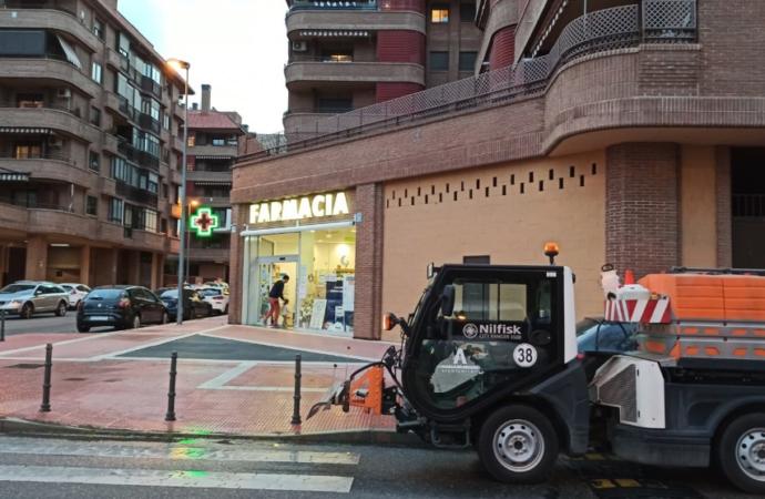 Limpiezas intensivas en colegios y centros de mayores por parte del Ayuntamiento de Alcalá