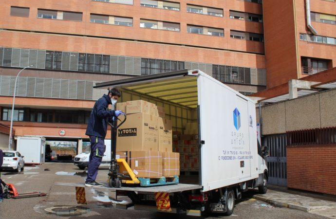 Hospitales de Guadalajara y centros de atención primaria recibirán material de protección