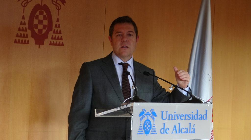 nuevo-palacio-congresos-emiliano-garcía-page-presidente-castilla-mancha-guadalajara-universidad-alcalá-uah