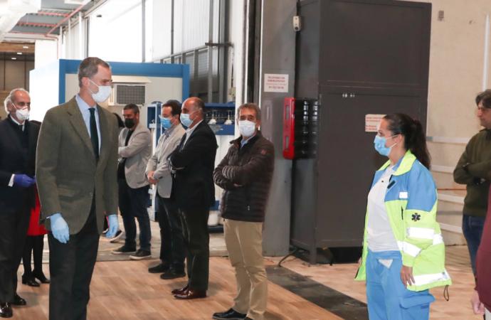 Más de 800 camas nuevas en el Hospital de Campaña de IFEMA. Hoy visita sorpresa del Rey Don Felipe