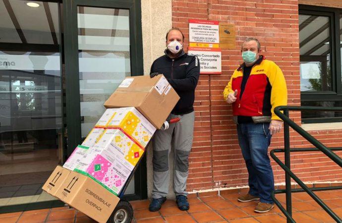 Frente al coronavirus, en Torrejón, «las peñas hacen piña»