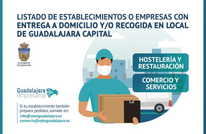 Más de 70 establecimientos de diferentes sectores realizan pedidos por encargo o domicilio en Guadalajara