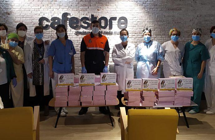 400 revistas para hacer más llevadera la estancia de los pacientes en el Hospital del Henares