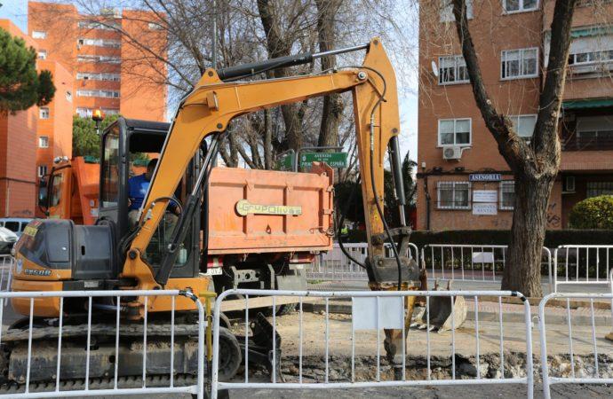 Más de 500 avisos atendidos por el área de Vías y Obras de Coslada durante el estado de alarma