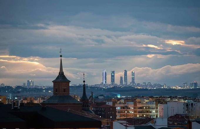 La espectacular foto de Alcalá y Madrid sin contaminación por el confinamiento