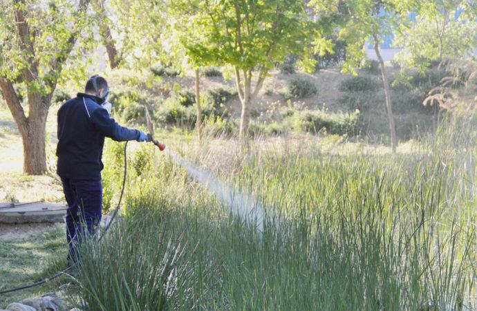 Azuqueca lleva a cabo la campaña de control de mosquitos e insectos en la ciudad