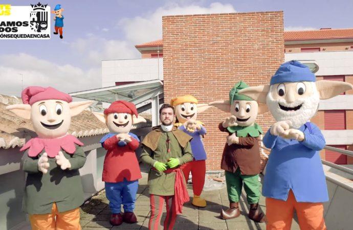 Los Guachis mandan un mensaje a los niños de Torrejón de Ardoz para animarles durante el confinamiento