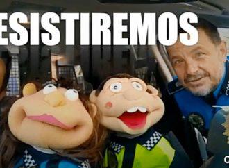 Las marionetas Prudencia y Tomasito felicitan a los niños de Coslada por su responsabilidad durante el confinamiento