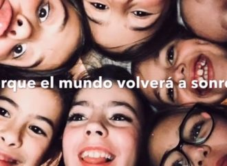 «El mundo volverá a sonreír»: el mensaje de esperanza en la voz de una niña a los cosladeños